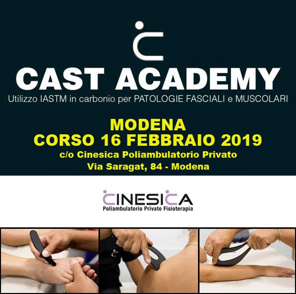 CAST Academy corso IASTM 16 febbraio 2019 a Modena