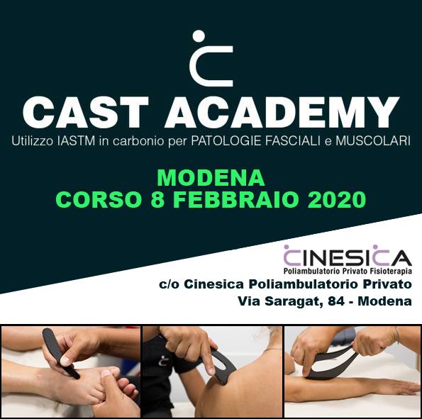 CAST corso 8 febbraio 2020 a Modena